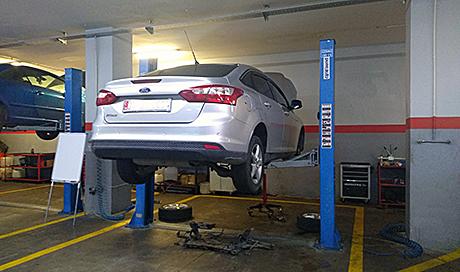 Ford Focus Powershift Mekatronik Ünite Test Merkezi