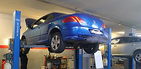 Peugeot AL4 DPO Şanzıman Beyni Test Merkezi